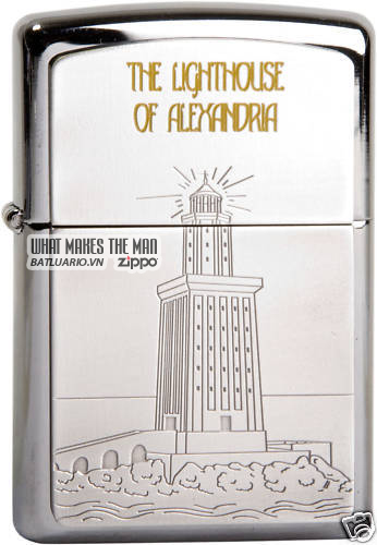 ZIPPO SEVEN WONDERS OF ANCIENT WORLD LIMITED EDITION 1000