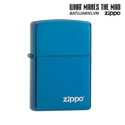 Zippo 20446ZL – Zippo Sapphire Zippo Logo