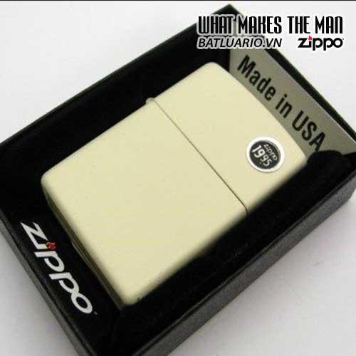 Bật Lửa Zippo 216 – Zippo Cream Matte 3