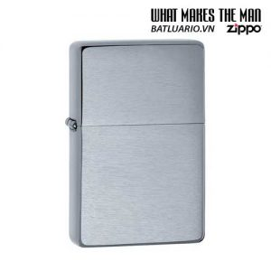 Zippo 230.25 – Zippo Vintage Brushed Chrome (No slashes)