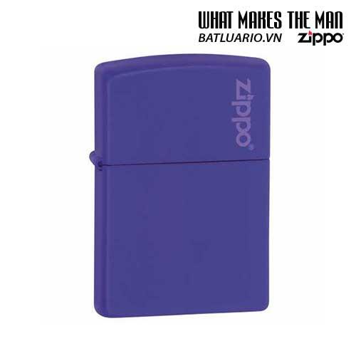 Zippo 237ZL – Zippo Purple Matte with Logo