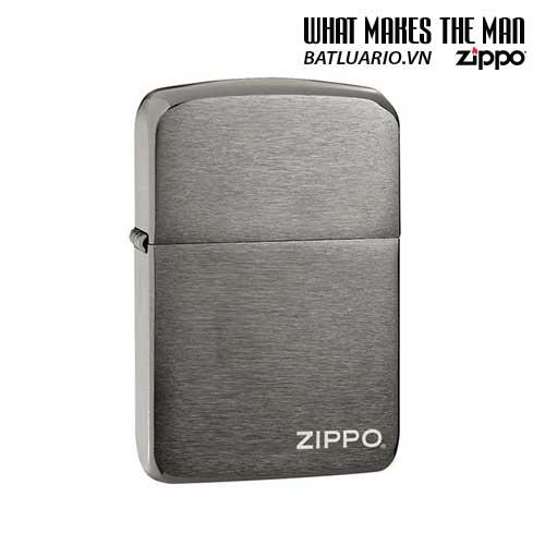 Zippo 24485 – Zippo Replica 1941 Black Ice with Zippo Logo