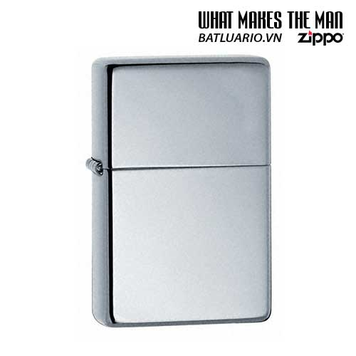 Zippo 260.25 – Zippo Vintage High Polished Chrome (No slashes)