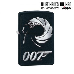 Zippo 29566 - Zippo 007 James Bond Black Matte