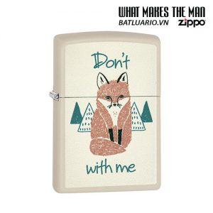 Zippo 29615 - Zippo Don't Fox With Me Cream Matte