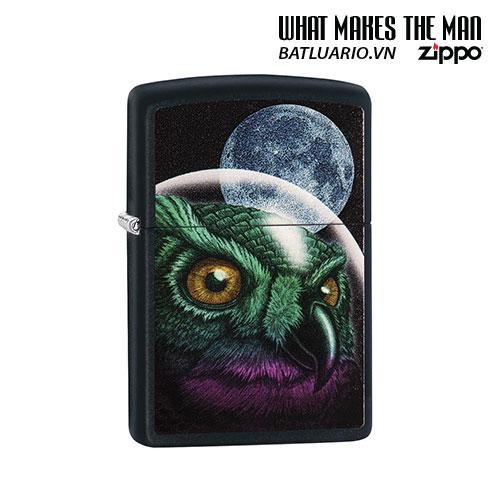 Zippo 29616 - Zippo Space Owl Black Matte
