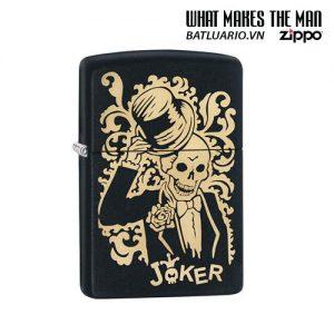Zippo 29632 - Zippo Joker Black Matte
