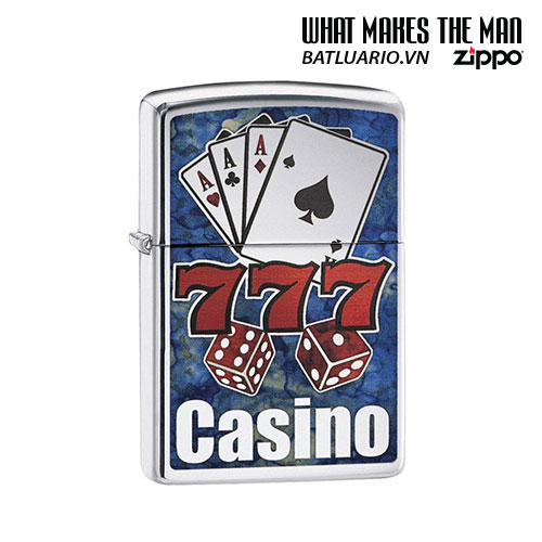 Zippo 29633 - Zippo Fusion Casino High Polish Chrome