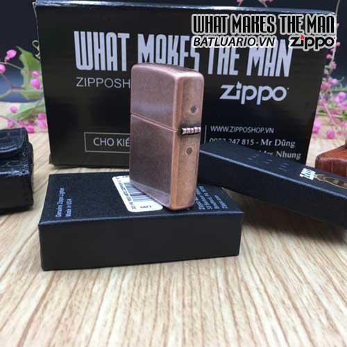 Bật Lửa Zippo 301FB – Zippo Antique Copper 3