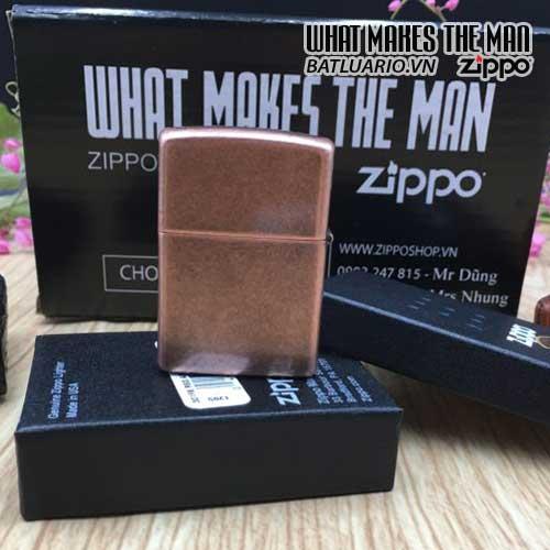 Bật Lửa Zippo 301FB – Zippo Antique Copper 4