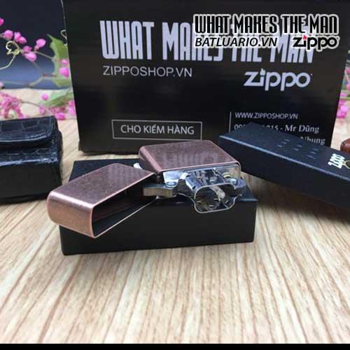 Bật Lửa Zippo 301FB – Zippo Antique Copper 5