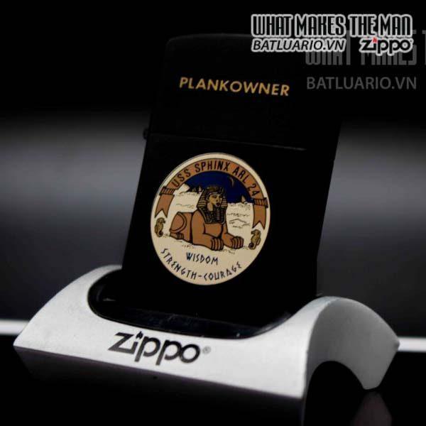 zippo 1985 uss sphinx arl 24