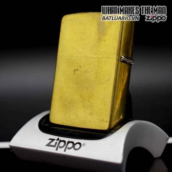 zippo 1991 marlboro longhorns đồng nguyên khối 2
