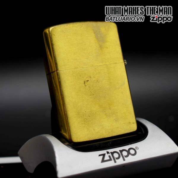 zippo 1991 marlboro longhorns đồng nguyên khối 9