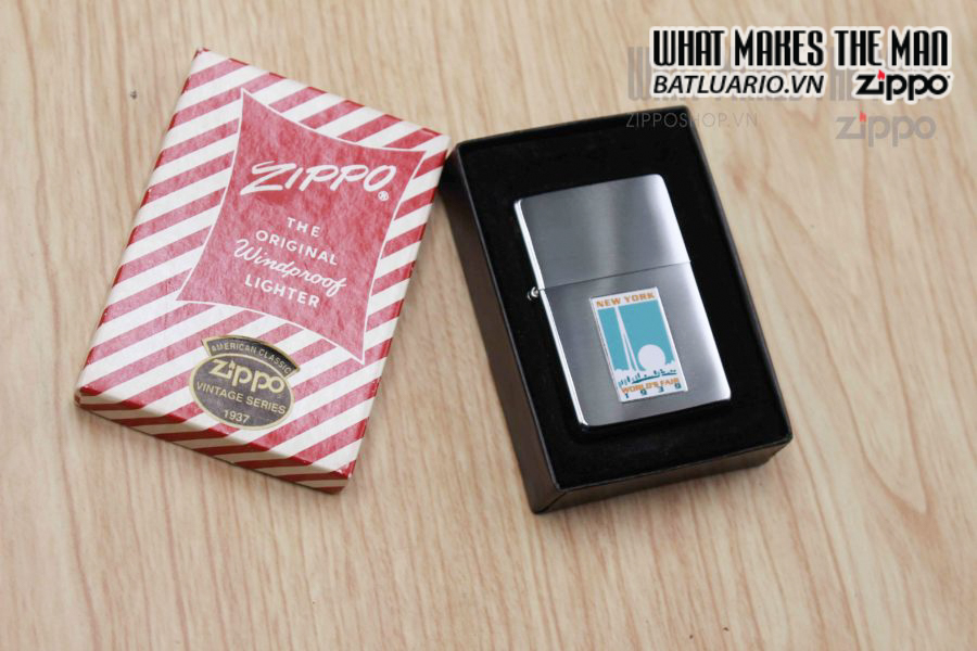 ZIPPO 1997 – REPLICA METALIQUE WORLD'S FAIR 1