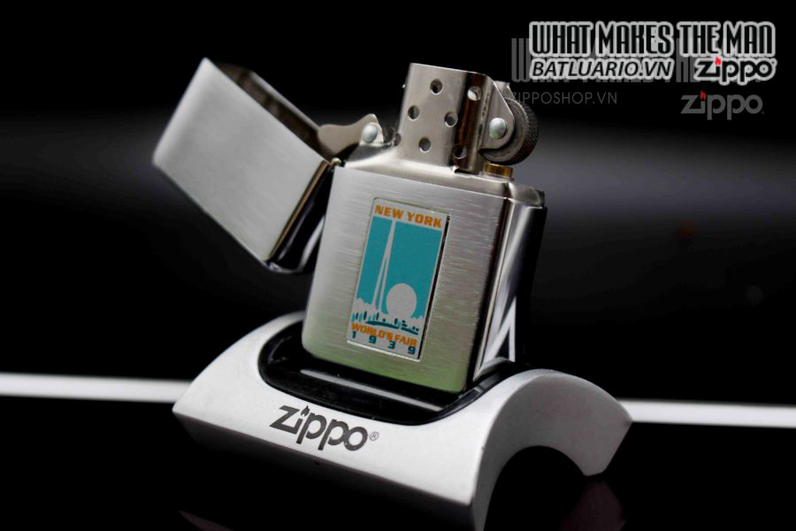 ZIPPO 1997 – REPLICA METALIQUE WORLD'S FAIR 9