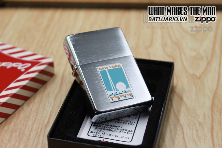 ZIPPO 1997 – REPLICA METALIQUE WORLD'S FAIR 11