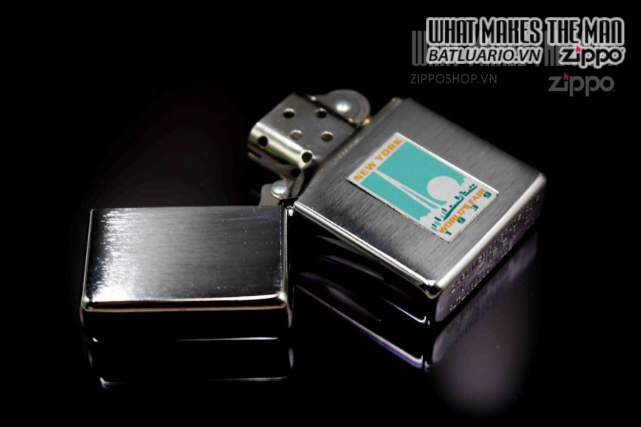 ZIPPO 1997 – REPLICA METALIQUE WORLD'S FAIR 7