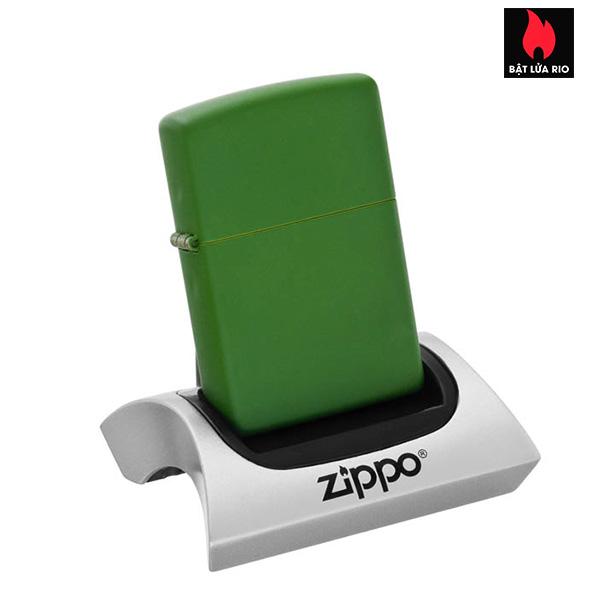 Zippo 228 – Zippo Moss Green Matte 1
