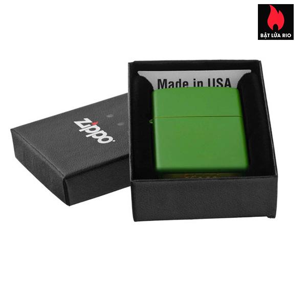 Zippo 228 – Zippo Moss Green Matte 2