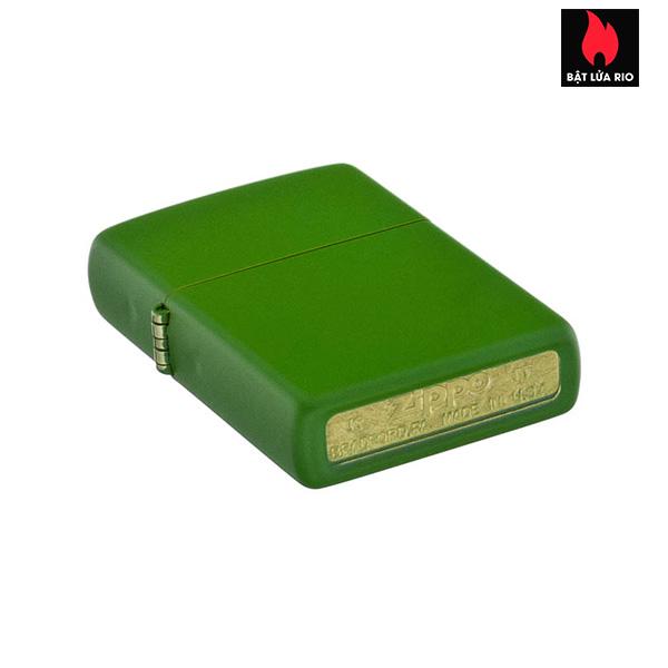 Zippo 228 – Zippo Moss Green Matte 3