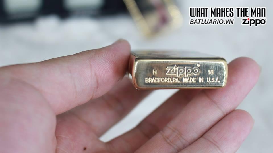 Zippo 29473 - Zippo Olivia De Berardinis Brushed Brass 3