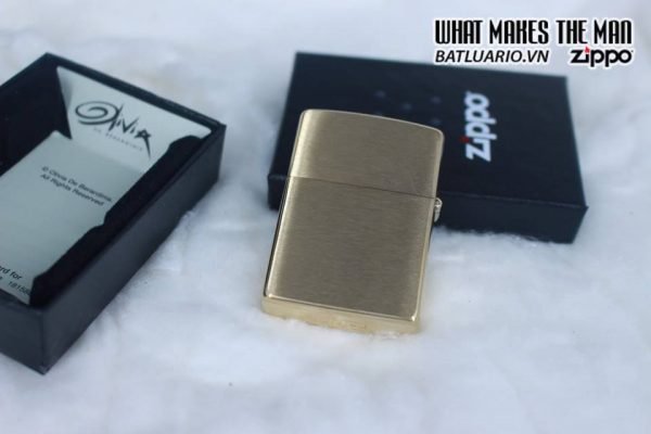 Zippo 29473 - Zippo Olivia De Berardinis Brushed Brass 7