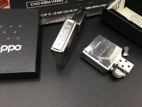 Zippo 29562 - Zippo 007 James Bond Linen Weave Engraved 2