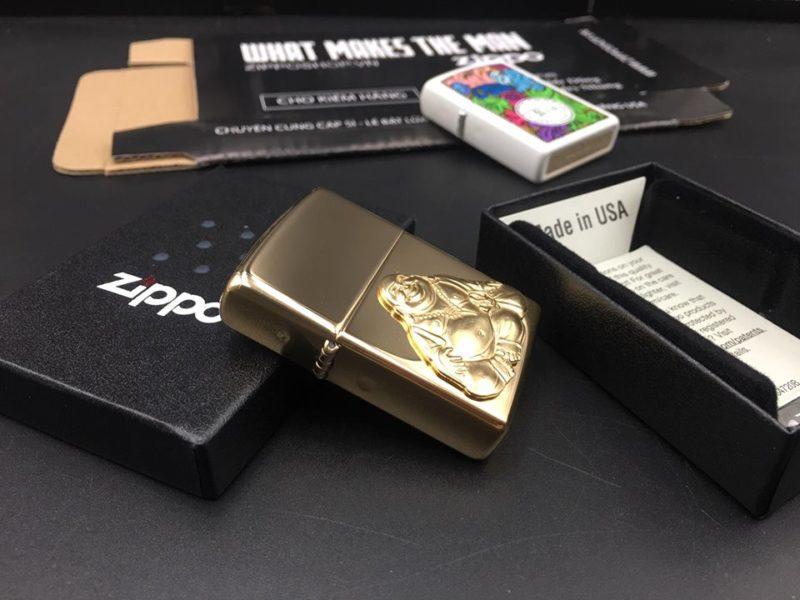 Zippo 29626 - Zippo Buddha Emblem High Polish Brass 1