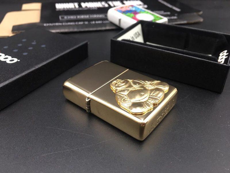 Zippo 29626 - Zippo Buddha Emblem High Polish Brass 11