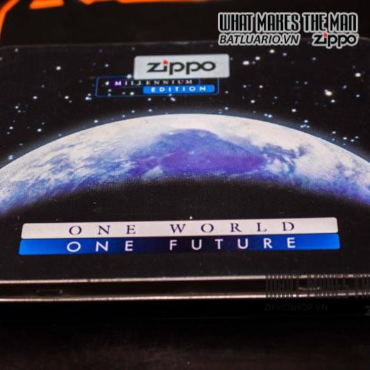 zippo coty 1999 one world one future century companion piece 15