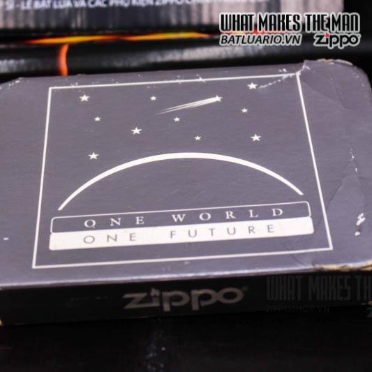 zippo coty 1999 one world one future century companion piece 2