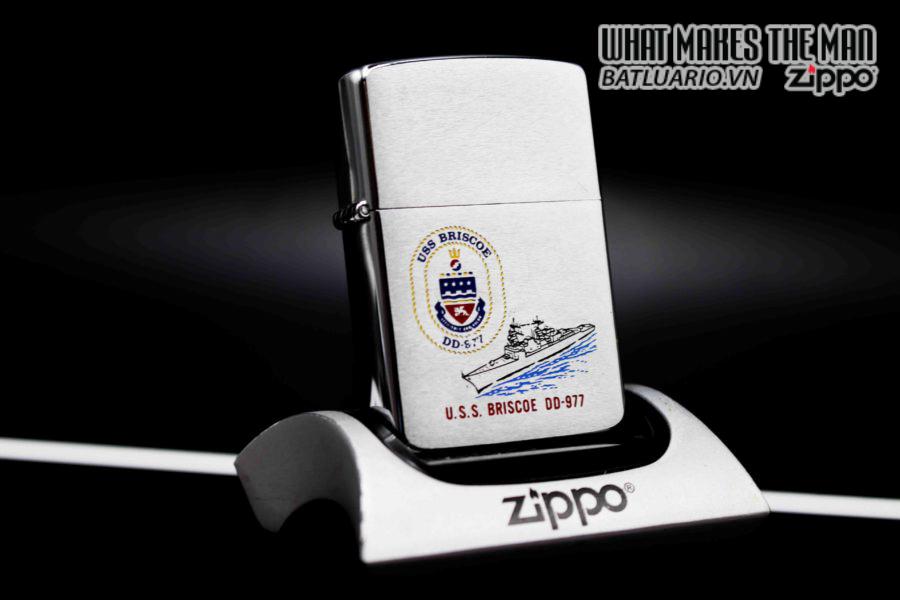 ZIPPO LA MÃ 1987 – USS BRISCOE DD 977 7
