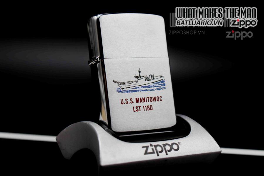 ZIPPO LA MÃ 1988 – USS MANITOWOC LST 1180 6
