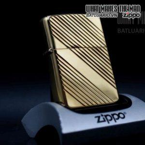 zippo la mã 1989 mạ vàng 1