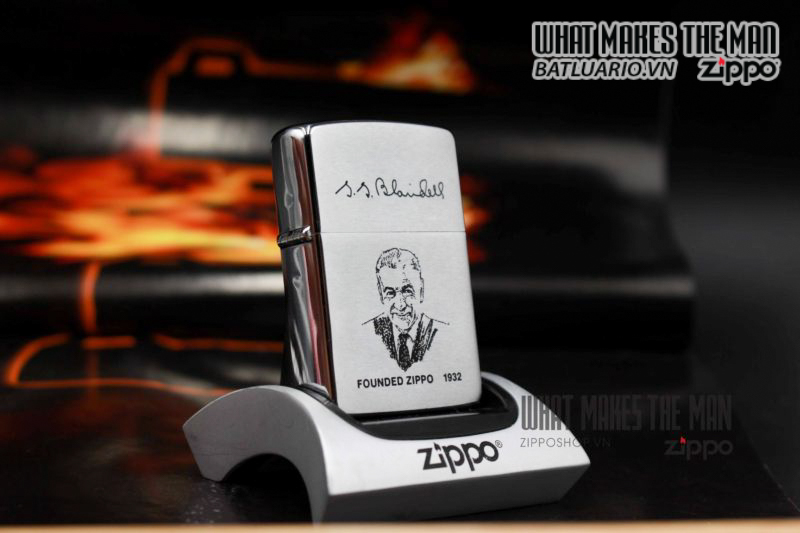 ZIPPO LA MÃ 1990 – FOUNDER LIGHTER 5