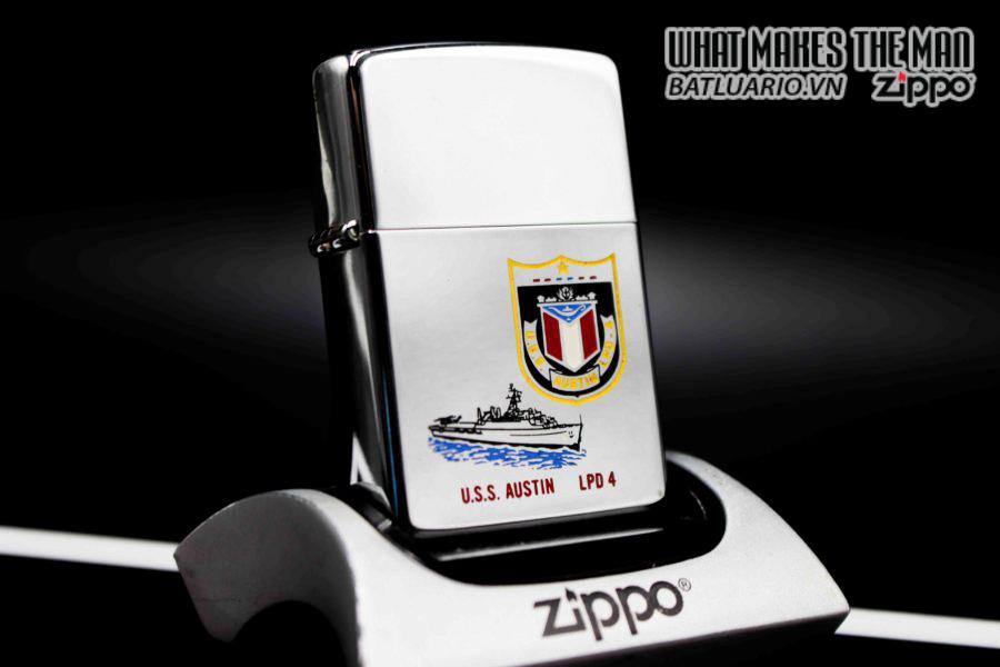 ZIPPO LA MÃ 1990 – USS AUSTIN LPD 4 6