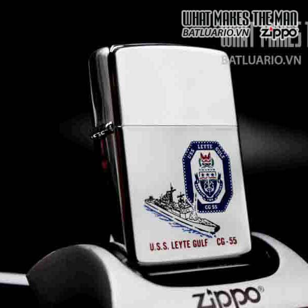 zippo la mã 1990 uss leyte gulf cg 55 1