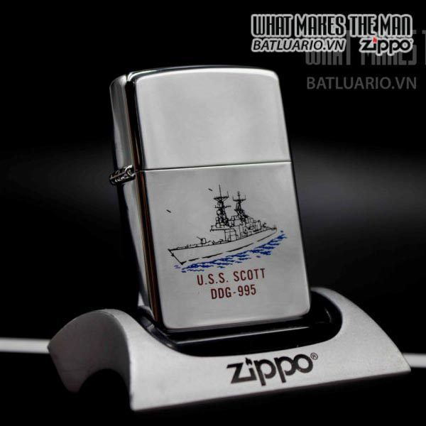 zippo la mã 1994 uss scott ddg 995 1