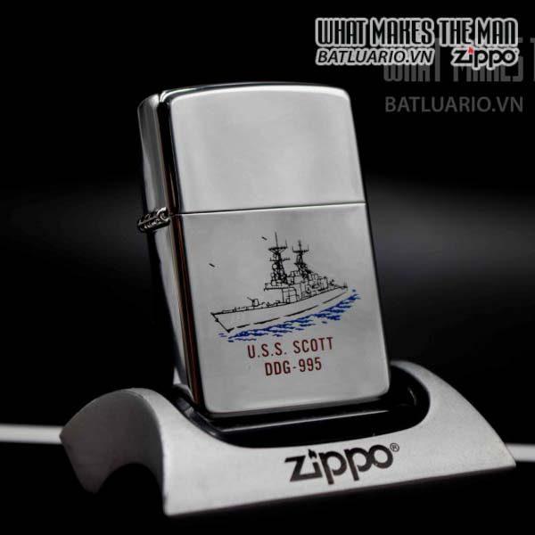 zippo la mã 1994 uss scott ddg 995 9