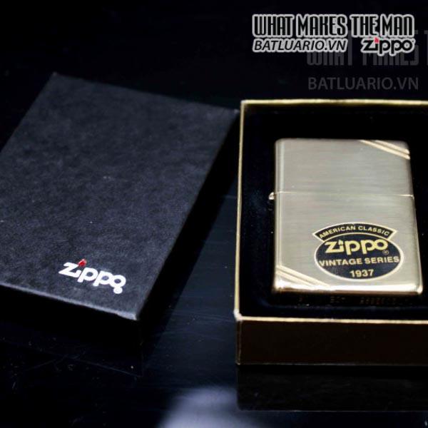zippo la ma 1994 vintage 1937 đồng nguyên khối 2