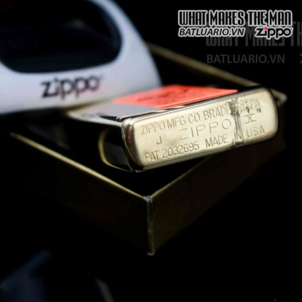 zippo la ma 1994 vintage 1937 đồng nguyên khối 3