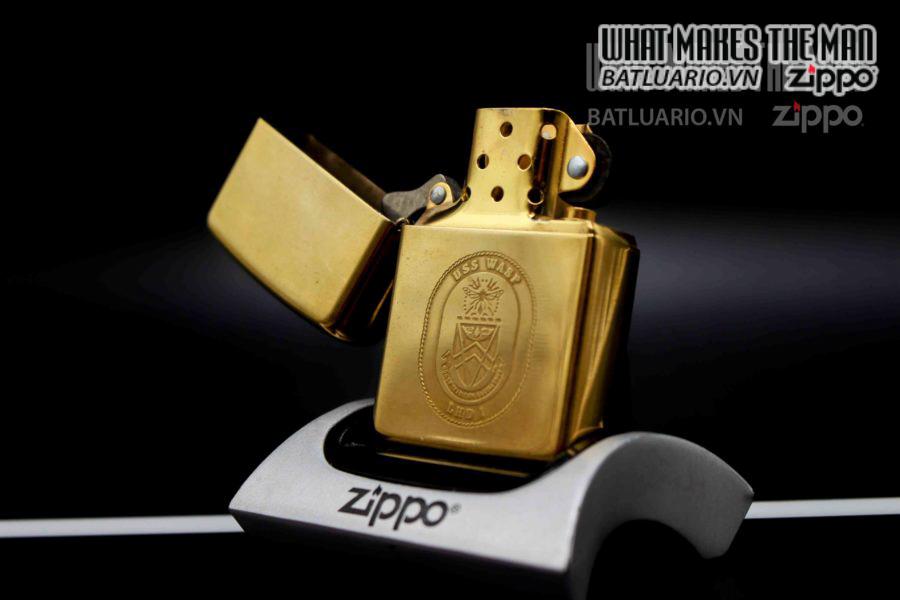 zippo la mã 1995 uss wasp lhd 3