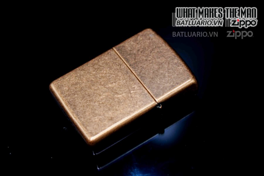 ZIPPO LA MÃ 1997 – ANTIQUE COPPER – 25TH ANNIVERSARY 4