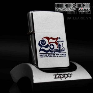 zippo xưa 1972 25th anniversary united states air force 1