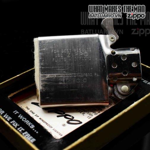 zippo xưa 1972 plain trơn 2 6
