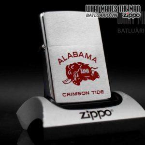 zippo xưa 1975 alabama crimson tide