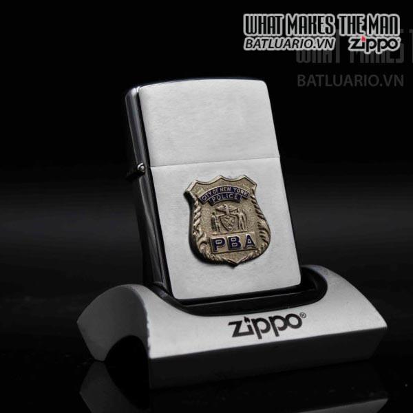 zippo xưa 1976 city of newyork police pba 1