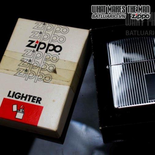 zippo xưa 1979 engine turned 2