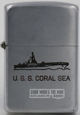 Zippo 1946-47 USS Coral Sea